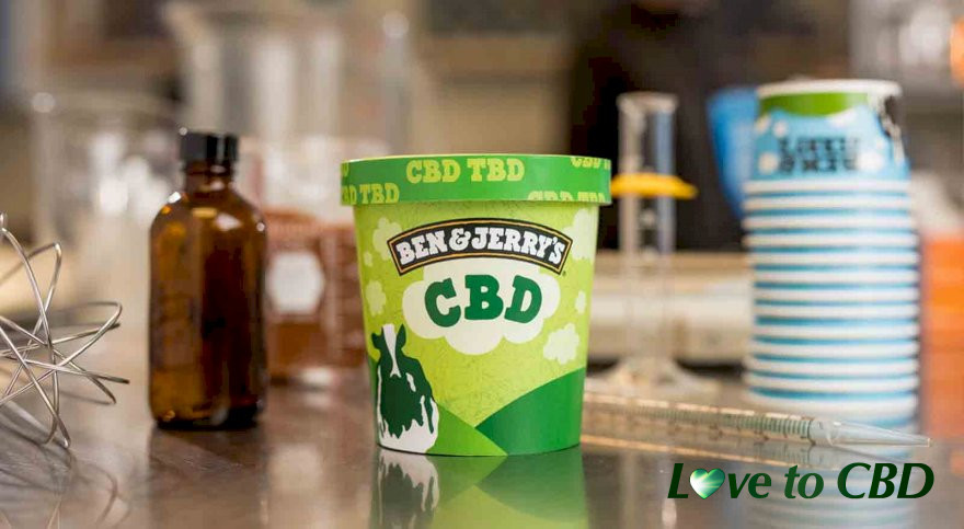 Ben & Jerry's announce the launch of CBD infused ice cream