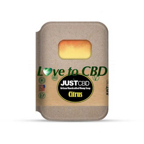 JustCBD Hemp Soap Citrus