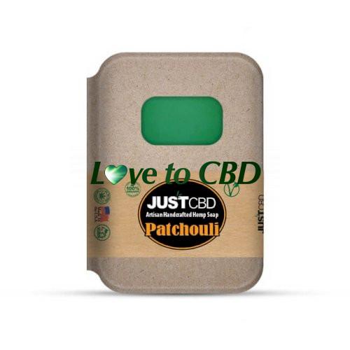 JustCBD Hemp Soap Patchouli