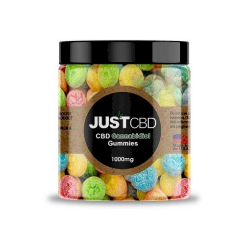JustCBD Gummies Emoji 1000mg Jar