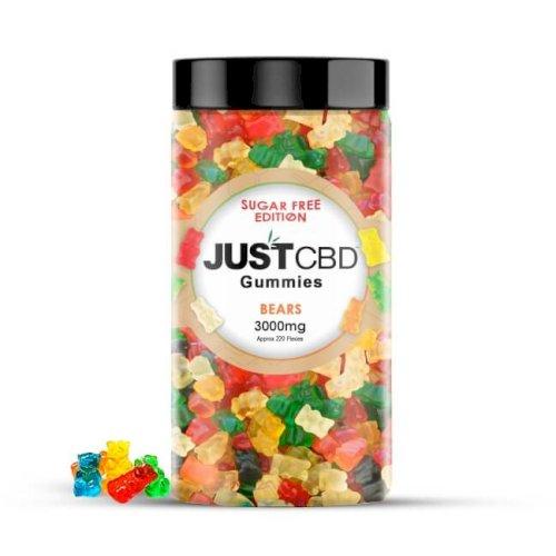 JustCBD Sugar Free CBD Gummies 3000mg