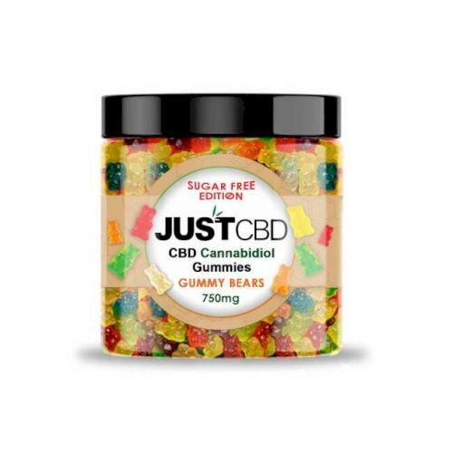 JustCBD Sugar Free Gummies 750mg