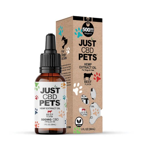JustCBD Pet Tincture Beef 500mg