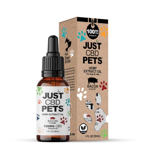 JustCBD Pet Tincture Bacon 100mg