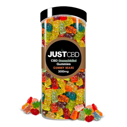 JustCBD Gummies Frosted Bears 3000mg