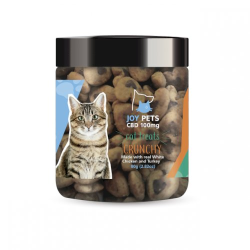 JoyPets CBD – Cat Treats – Crunchy