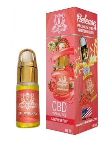 Regall CBD Vape Additive 10ml – Strawberry