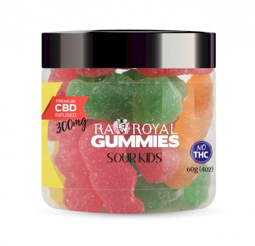 R.A. Royal Gummies – 300MG CBD Infused Sour Kids
